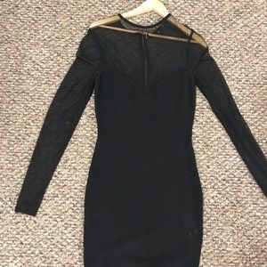 Small black cocktail dress
